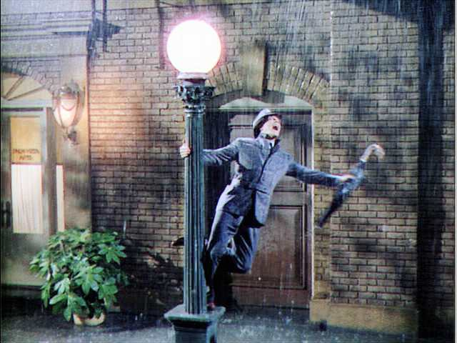 Essays on singing in the rain